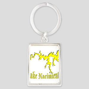 LAKE NACIMIENTO [4 yellow] Portrait Keychain